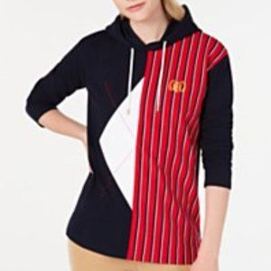 Tommy Hilfiger Classic Argyle and Strips Hoodie